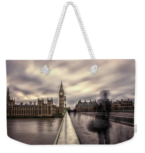 A Ghostly Figure Weekender Tote Bag