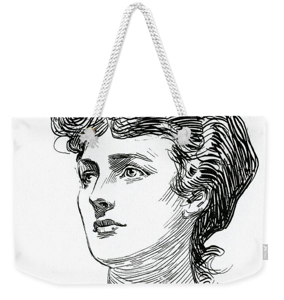 A Gibson Girl By Charles Dana Gibson Weekender Tote Bag