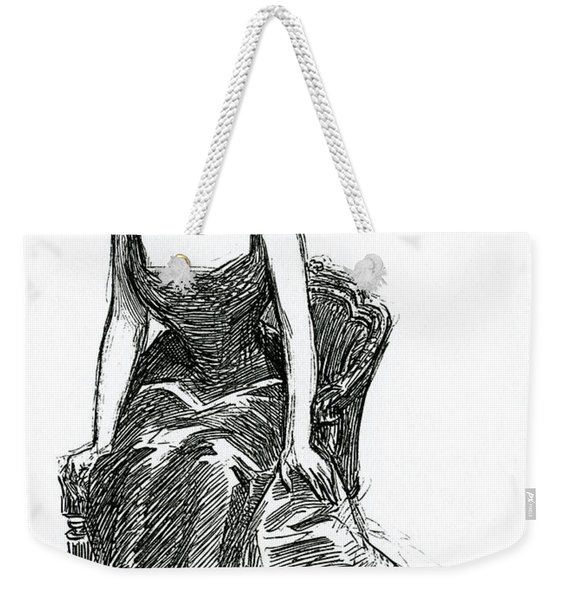 A Gibson Girl, C1902 Litho Weekender Tote Bag