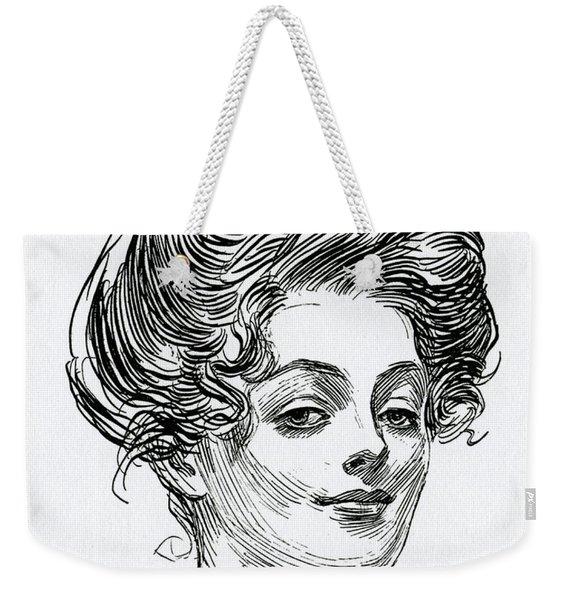 A Gibson Girl Weekender Tote Bag