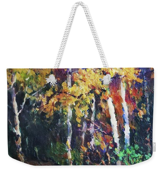 A Glance Of The Woods Weekender Tote Bag
