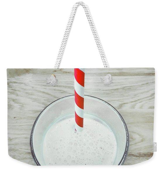 A Glass Of Milkshake Weekender Tote Bag