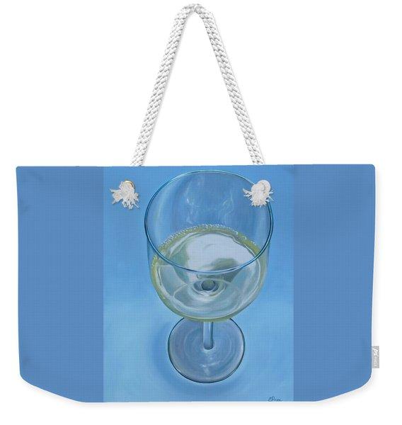 A Glass Of Wine Is Fine Weekender Tote Bag