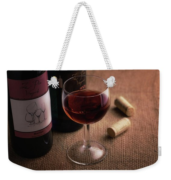 A Glass Of Wine Weekender Tote Bag