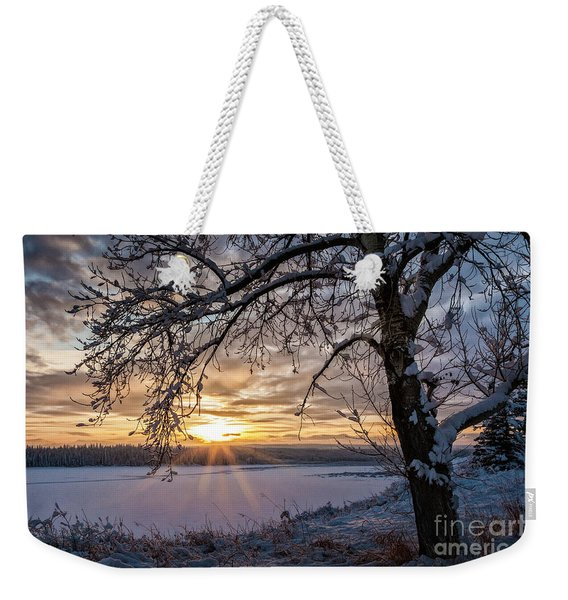A Glenmore Sunset Weekender Tote Bag