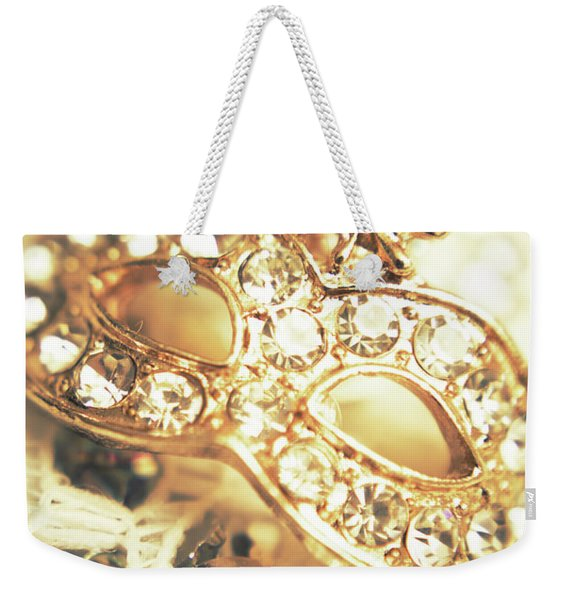 A Golden Occasion Weekender Tote Bag