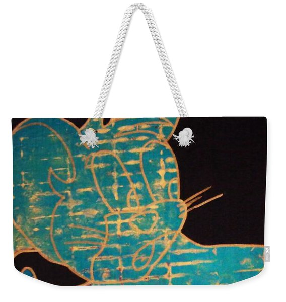 A Golden Touch Weekender Tote Bag