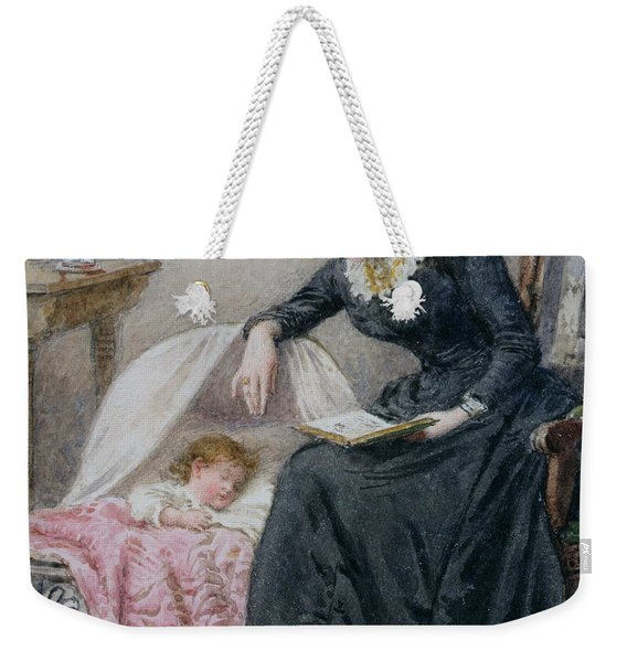 A Goodnight Story  Weekender Tote Bag