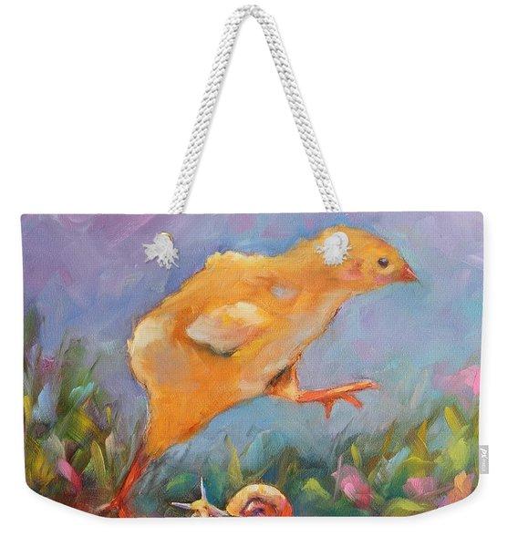A Gracious Friend Weekender Tote Bag
