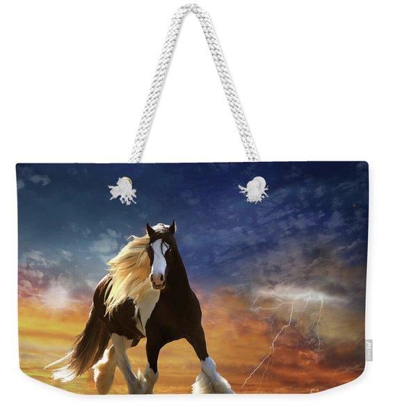 A Gypsy Storm Weekender Tote Bag
