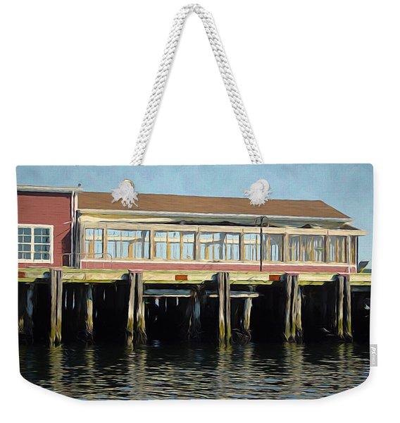 A Halifax Pier Weekender Tote Bag