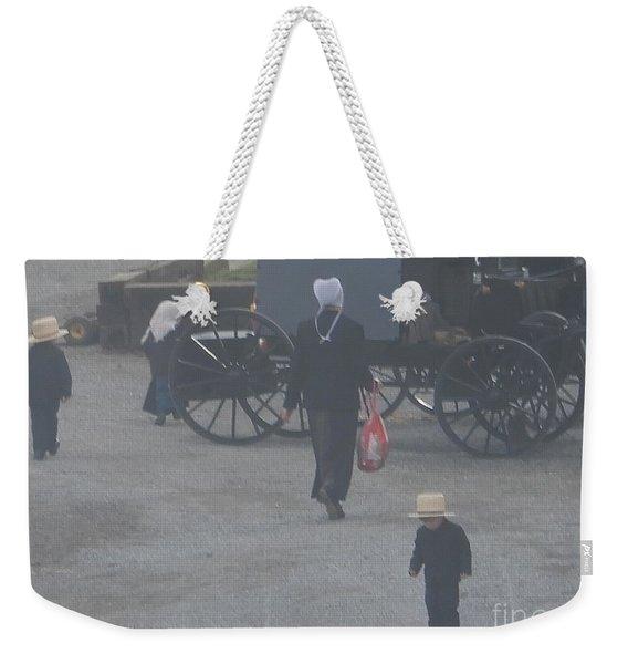 A Handful For Mom Weekender Tote Bag