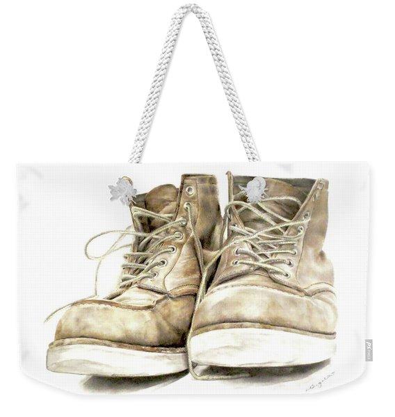 A Hard Day's Work Weekender Tote Bag