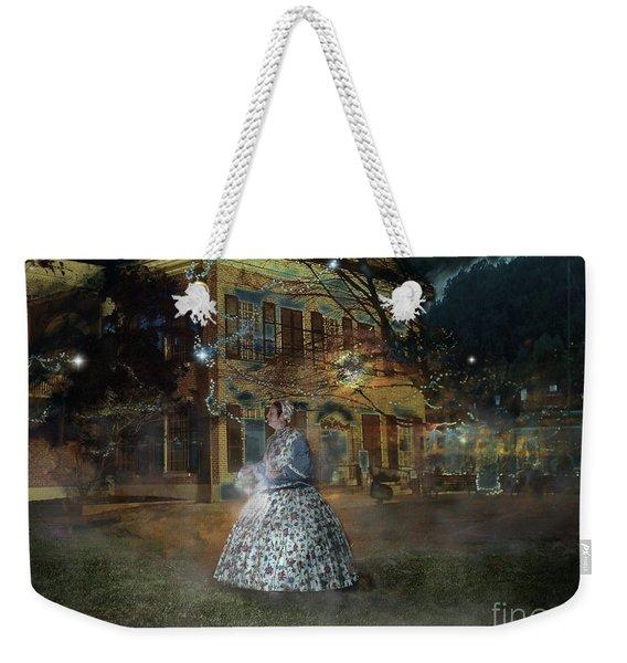 A Haunted Story In Dahlonega Weekender Tote Bag