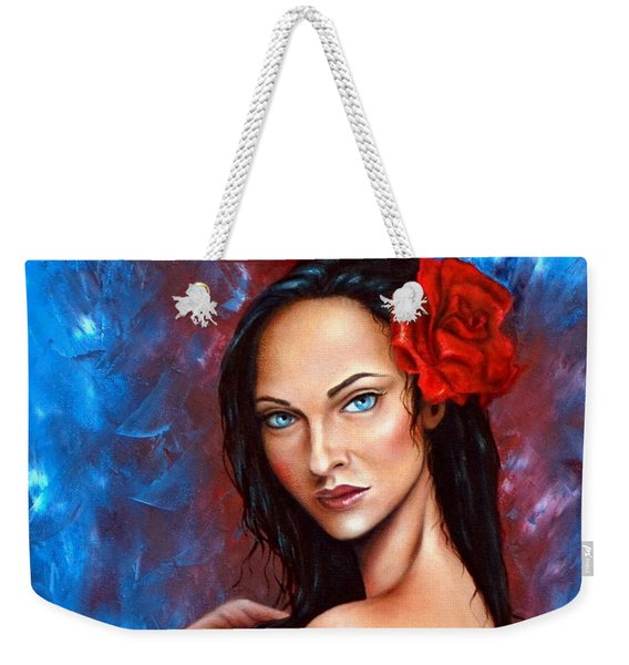 A Hawaiin Touch Weekender Tote Bag