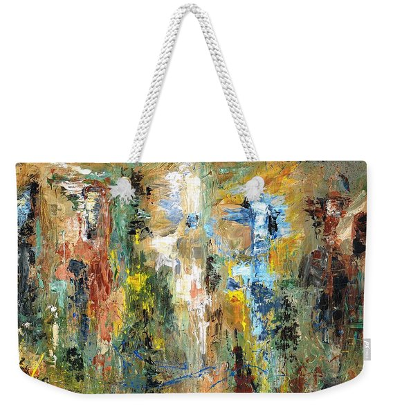 A Herd Of Five Weekender Tote Bag