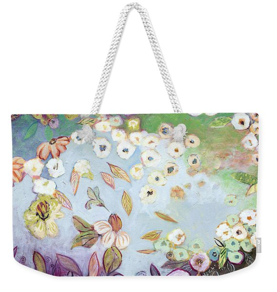 A Hidden Lagoon Weekender Tote Bag