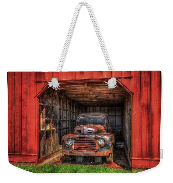 A Hiding Place 1949 Ford Pickup Truck Weekender Tote Bag