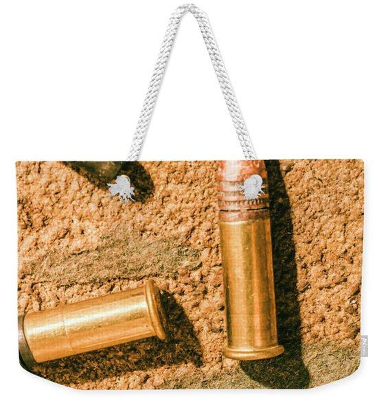 A Higher Calibre Weekender Tote Bag