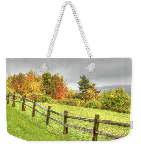 A Highland Forest Autumn Weekender Tote Bag
