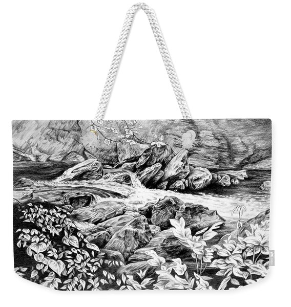 A Hiker's View - Landscape Print Weekender Tote Bag