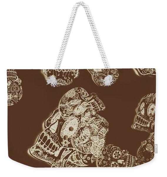 A Holiday Inversion  Weekender Tote Bag