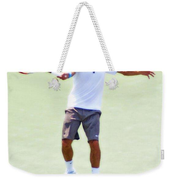 A Hug From Roger Weekender Tote Bag