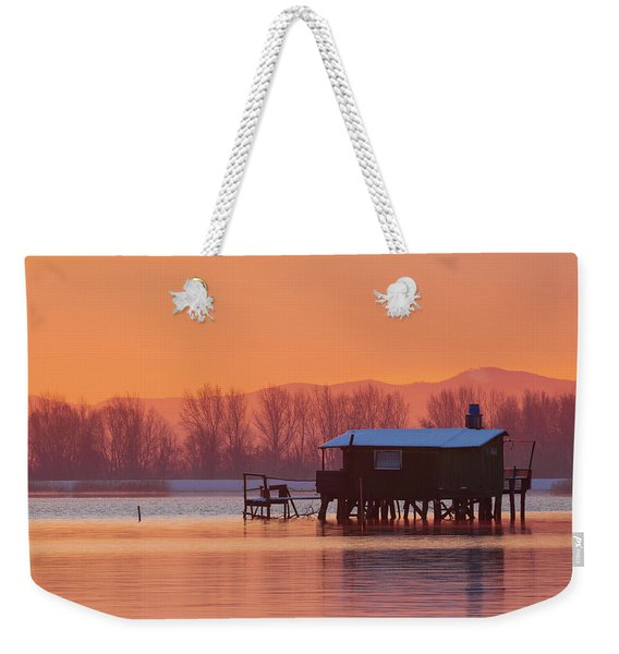 A Hut On The Water Weekender Tote Bag