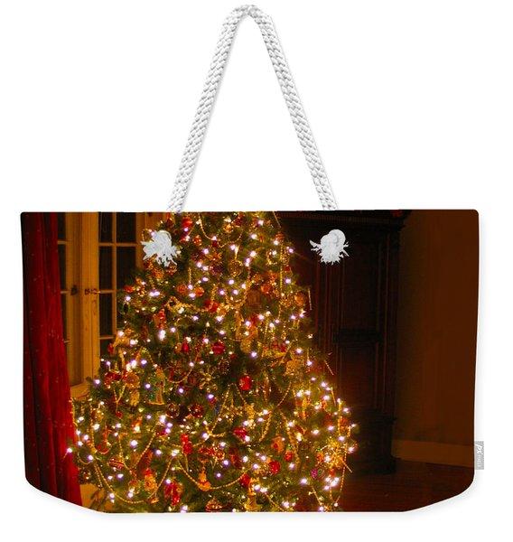 A Jewel Of A Christmas Tree Weekender Tote Bag