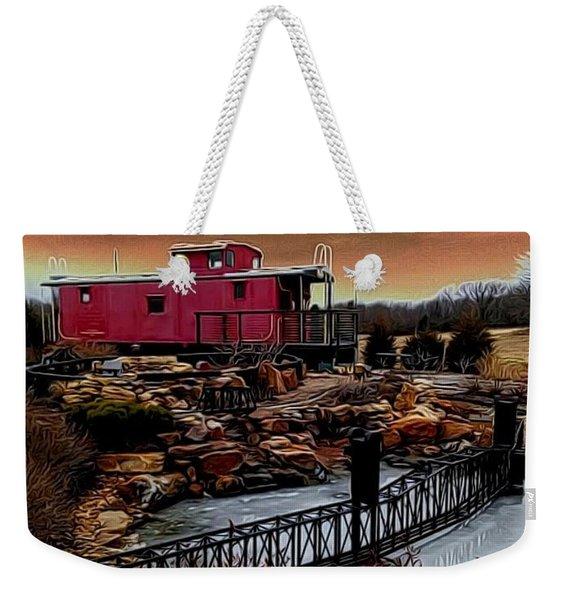 A Journey Weekender Tote Bag