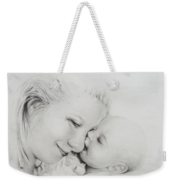 A Kiss Weekender Tote Bag