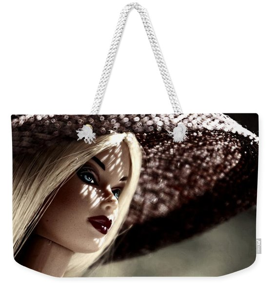 A Lady At The Derby Weekender Tote Bag