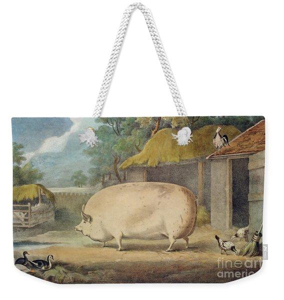 A Leicester Sow Weekender Tote Bag