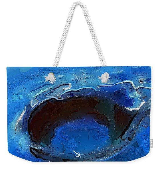 A Lifeless Planet Blue Weekender Tote Bag