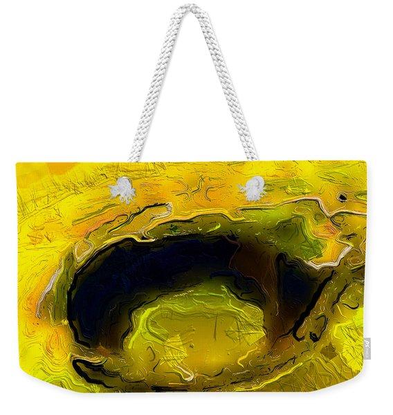A Lifeless Planet Yellow Weekender Tote Bag