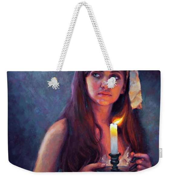 A Light Unto My Path Weekender Tote Bag