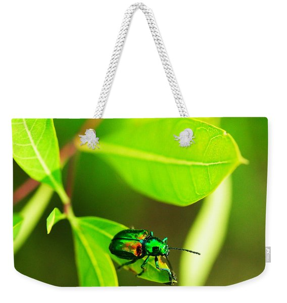 A Little Red Beatle Weekender Tote Bag