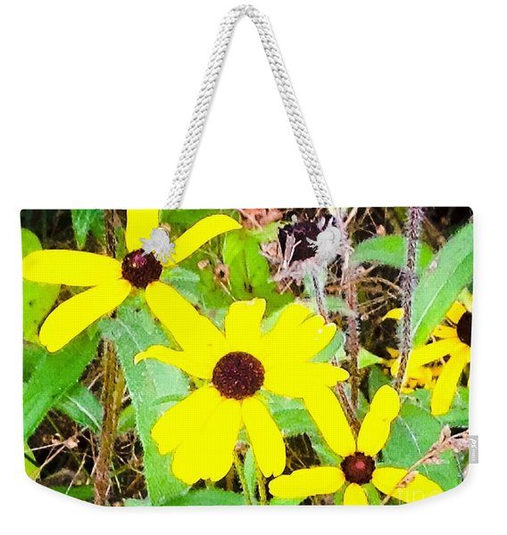 A Little Yellow Sunshine Weekender Tote Bag