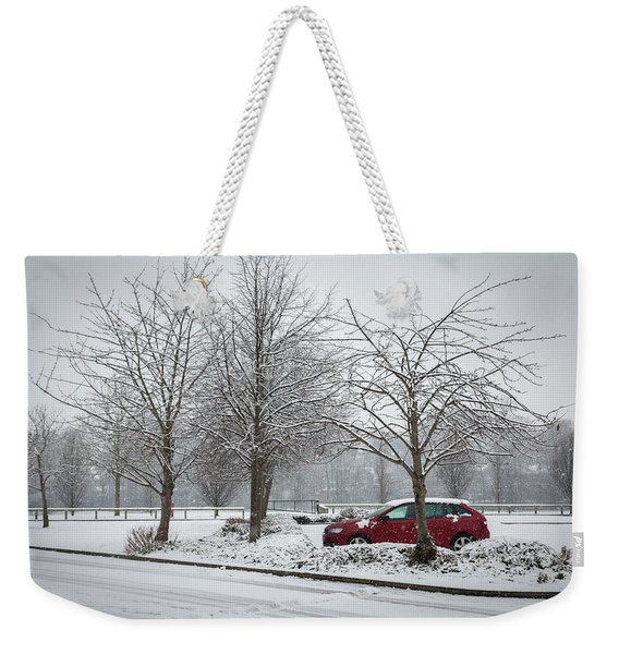 A Lonely Commute Weekender Tote Bag