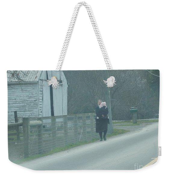 A Long Day Weekender Tote Bag