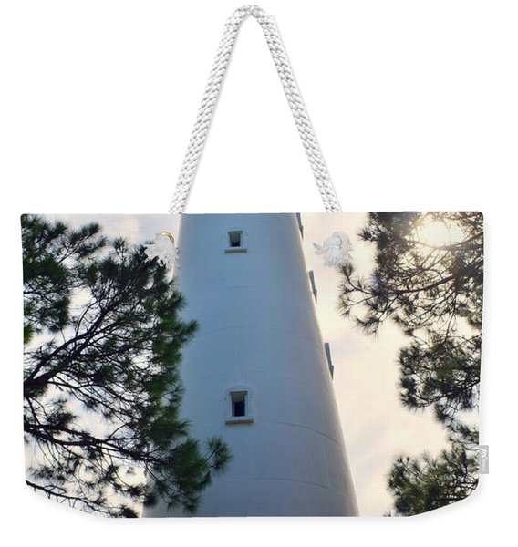 A Look Up Hunting Island Lighthouse Beaufort Sc Weekender Tote Bag