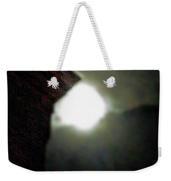 A Lorraine Cornice Moon Weekender Tote Bag