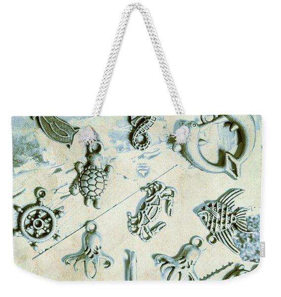 A Maritime Design Weekender Tote Bag