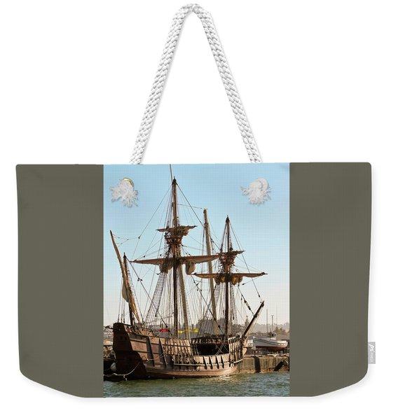 A Maritime Museum Of San Diego San Salvador Shot, California, Usa Weekender Tote Bag