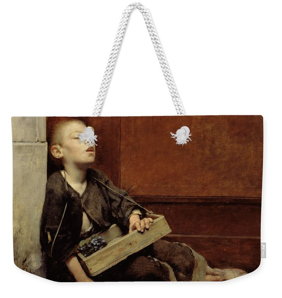 A Martyr Or The Violette Merchant Weekender Tote Bag