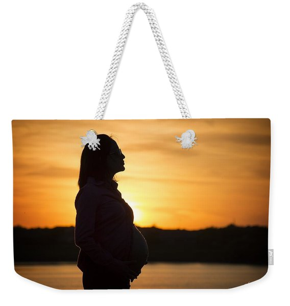 A Marvelous Future Ahead Weekender Tote Bag