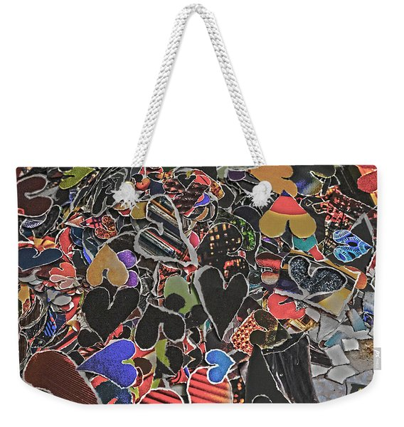 A Million Temples Of Love Minus Some 996452 Weekender Tote Bag