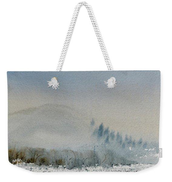 A Misty Morning Weekender Tote Bag