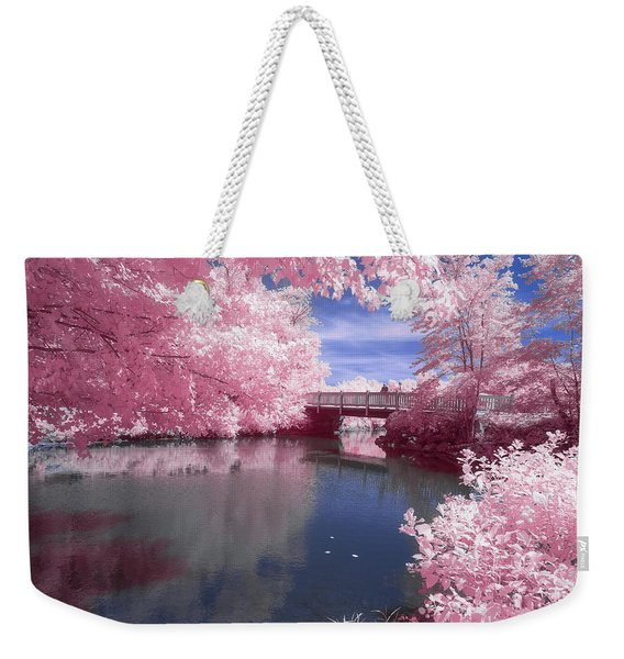 Weekender Tote Bag featuring the photograph A Moment To Reflect by Brian Hale