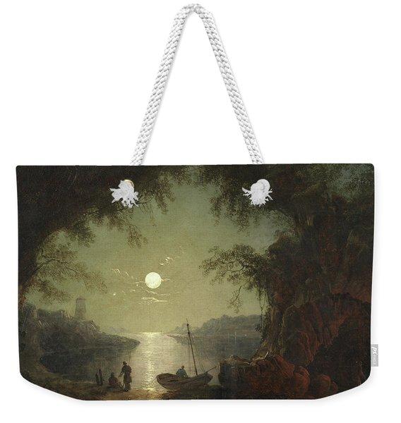 A Moonlit Cove Weekender Tote Bag